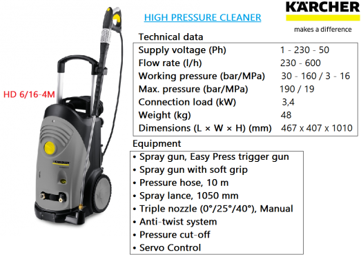 hd-6-16-4m-karcher-heavy-duty-industrial-commercial-high-pressure-water-jet-cleaner