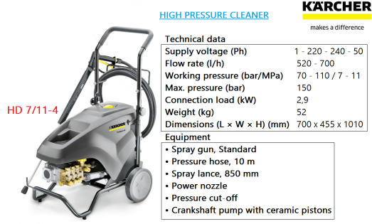 hd-7-11-4-karcher-heavy-duty-industrial-commercial-high-pressure-water-jet-cleaner
