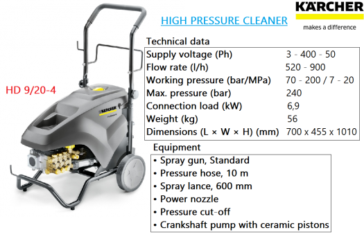 hd-9-20-4-karcher-heavy-duty-industrial-commercial-high-pressure-water-jet-cleaner