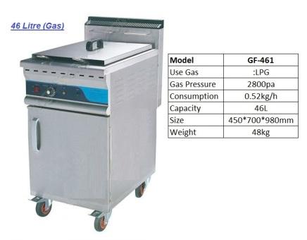F2 GF-641 Deep fryer pengoreng