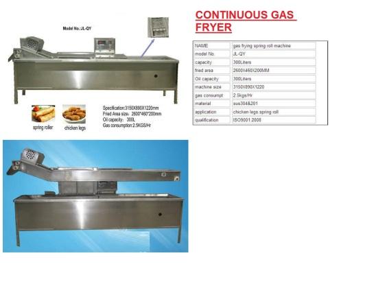 F4 Continuous Fryer pengoreng