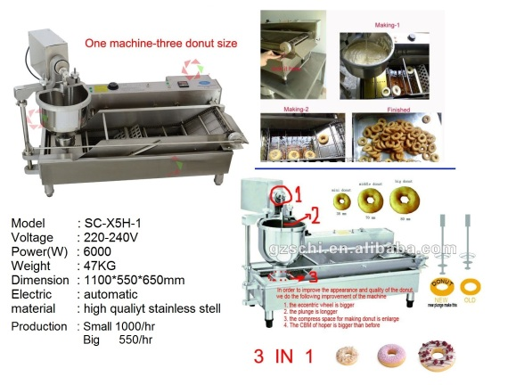 F4 DONUT MACHINE fryer pengoreng