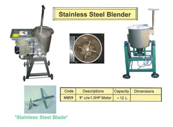 Lc1 Blender Stainless Steel