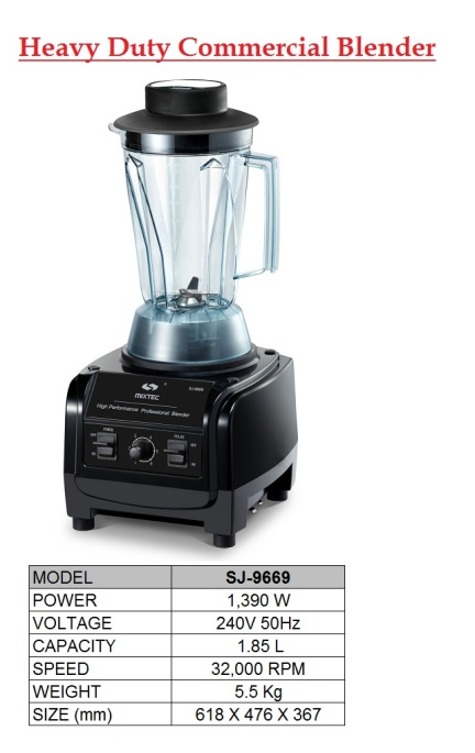 Lc3 Blender SJ-9669