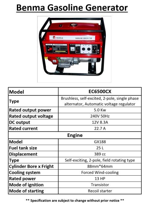 benma-petrol-generator-ec6500cx