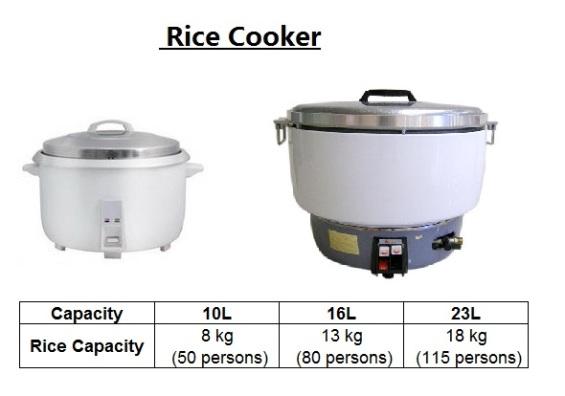 E10 rice cooker Periuk Nasi industri
