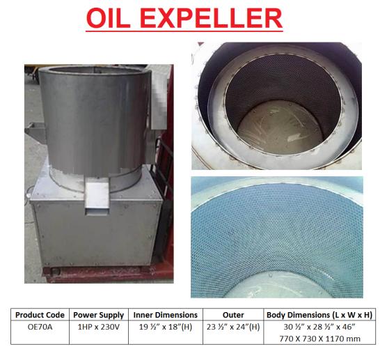 E7 OIL EXPELLER mesin pembuang minyak