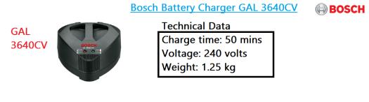 gal-3640cv-bosch-li-ion-battery-charger-power-tool