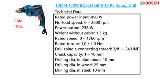 gbm-10re-bosch-rotary-drill-power-tool