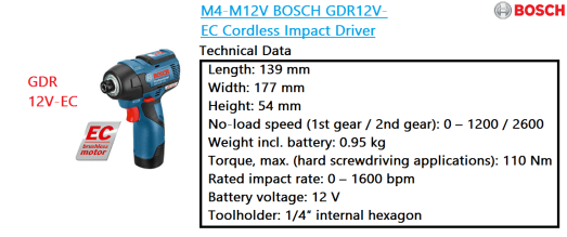 gdr-12v-ec-bosch-cordless-impact-driver-power-tools