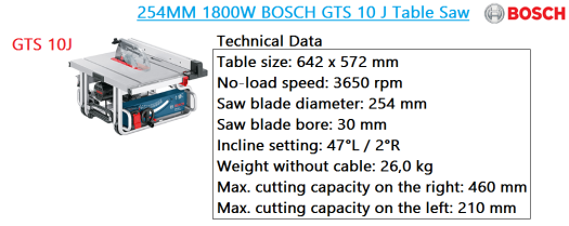 gts-10j-table-saw-bosch-bench-mounted-power-tools