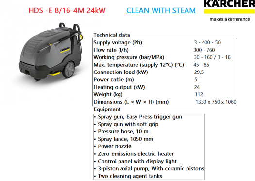 hds-e-8-16-4m-24kw-karcher-electric-driven-hot-water-pressure-clean-with-steam
