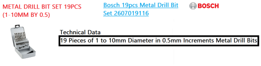 metal-drill-bit-set-19pcs-1-10mm-by-0-5-bosch-power-tool