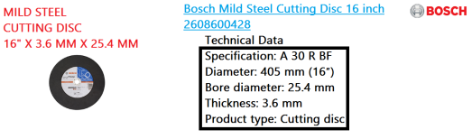 mild-steel-cutting-disc-16-x-3-6-mm-x-25-4-mm-bosch-power-tool