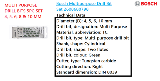 multi-purpose-drill-bits-5pc-set-4-5-6-8-10-mm-bosch-power-tool