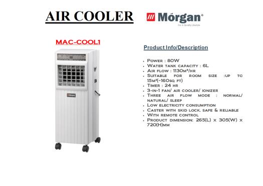 air cooler MAC-COOL 1(Penyejuk Udara)
