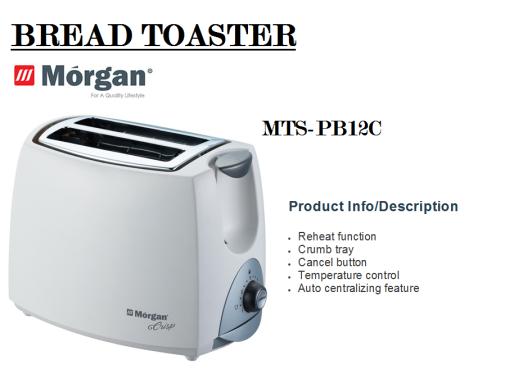 bread toaster MTS-PB12C(Pembakar Roti)