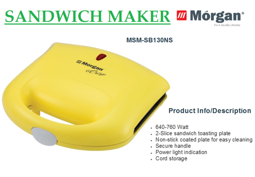 sandwich maker MSM-SB130NS(Pembuat Sandwich)