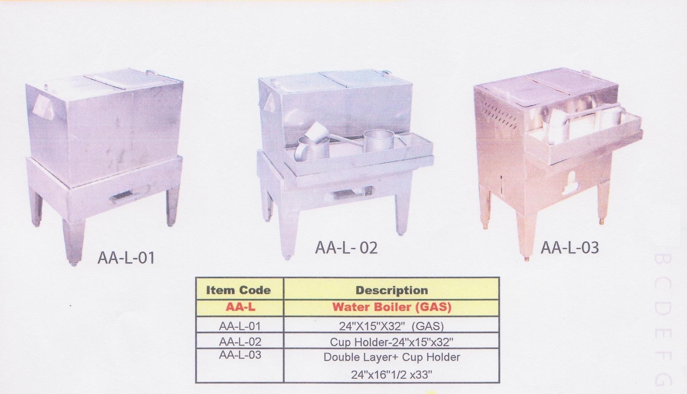 01 Water Boiler (Pemanas Air)