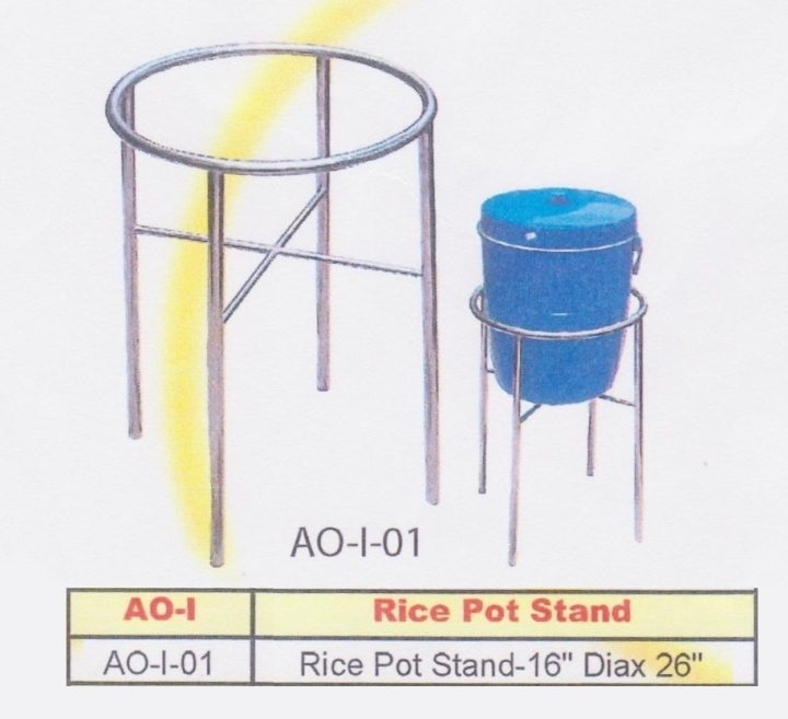 13b- Rice Pot Stand (Kaki Periuk Nasi)