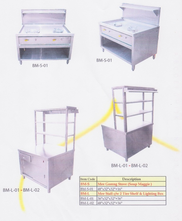 26 Mee Goreng Stove & Stall (gerai dan dapur mee goreng)