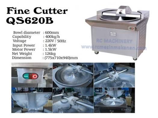 fine cutter, cutter, QS620B, mesin daging
