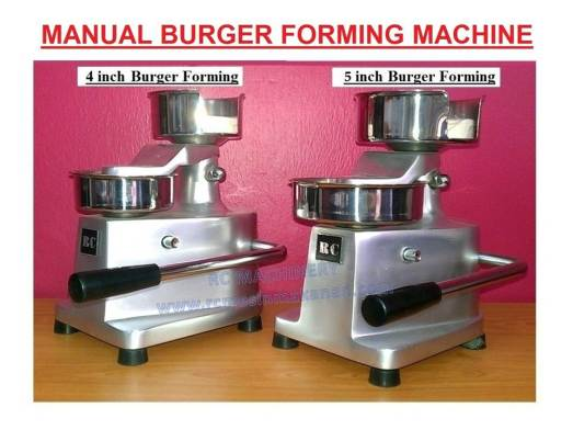 hamburger, forming machine, mesin membuat burger, mesin manual burger