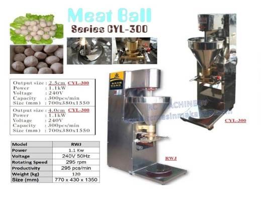 meat ball, mesin membuat bebola,