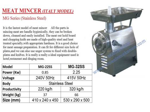meat grinder, meat mincer, mesin daging