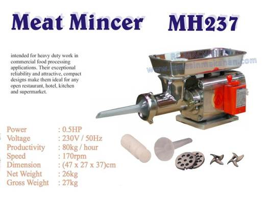 meat mincer, meat grinder, mesin daging, MH237,