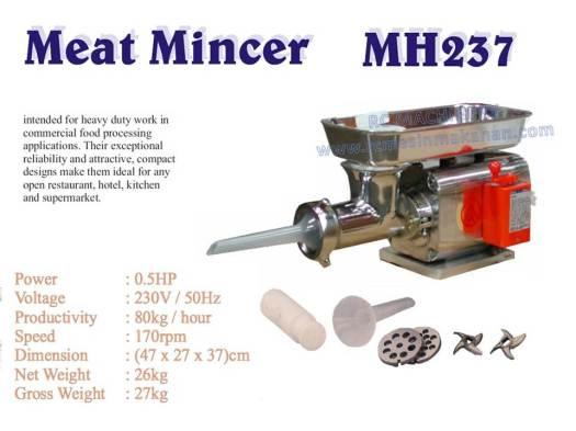 meat mincer, meat grinder, mesin daging, MH237,