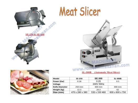 meat slicer, mesin pemotong daging