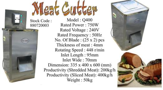 N9 Meat Cutter