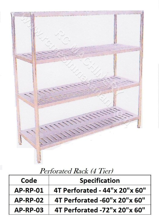 Perforated Rack(4 Tier)