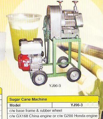 sugar cane machine (mesin pemerah tebu) - model YJ