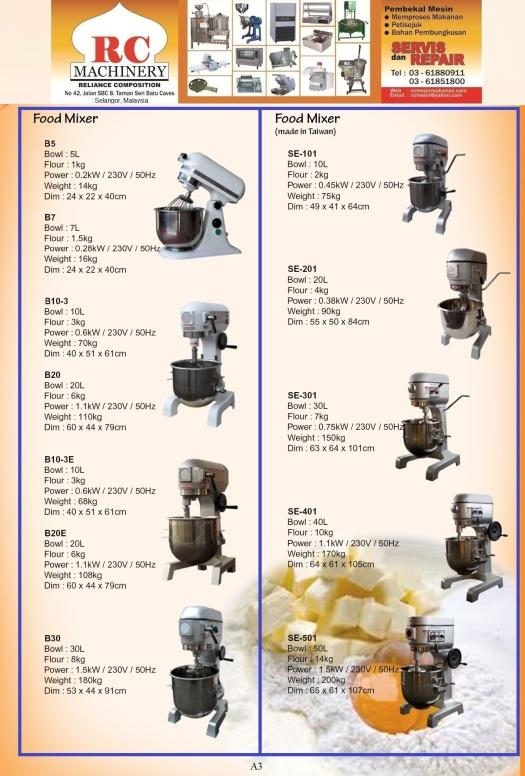 A3- Mixer Taiwan