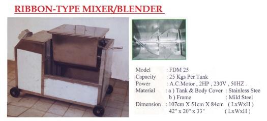 A4 Ribbon Mixer