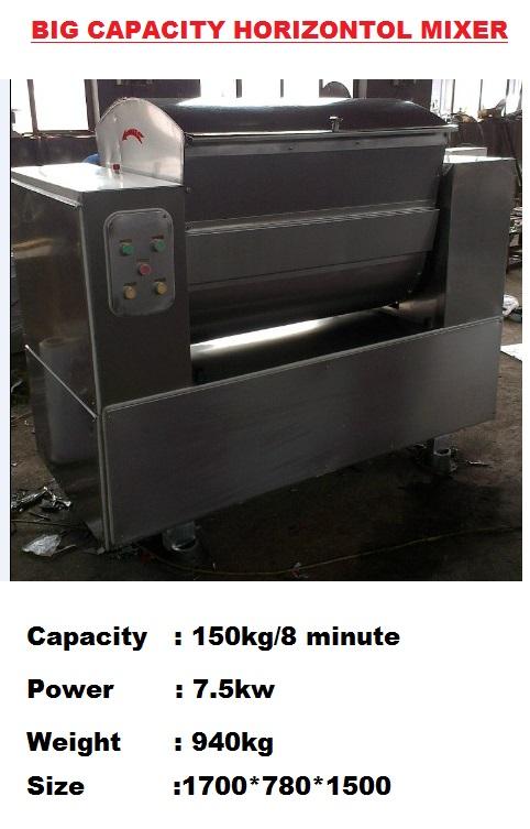 A7 150 kg MIXER Machine  Mesin Pengadun Pengaul Berkapasiti besar