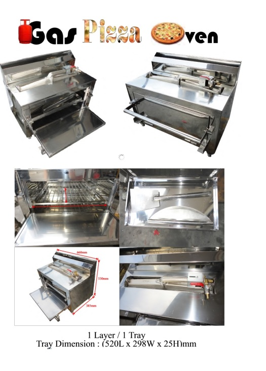 Ba7 Gas Pizza Oven