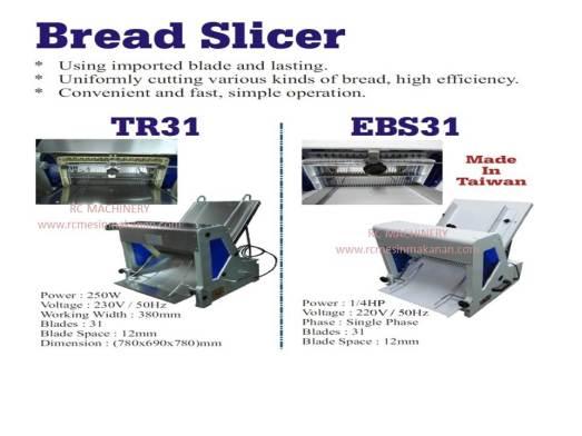 bread slicer, pemotong roti, mesin memotong