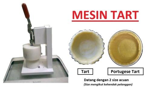 C5 MESIN Tat Tart  Machine