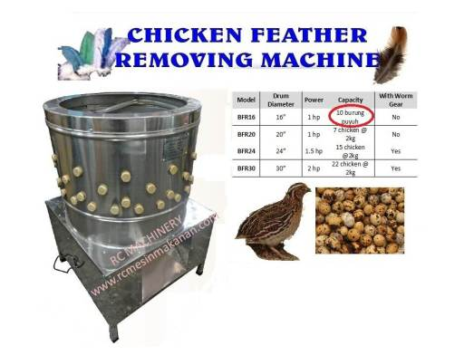 chicken feather removing machine, mesin mencabut bulu ayam, mesin ayam