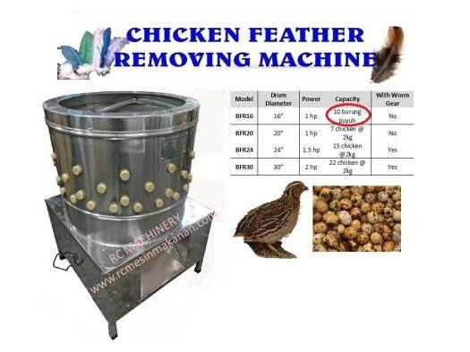 chicken feather removing machine, mesin mencabut bulu ayam, mesin ayam