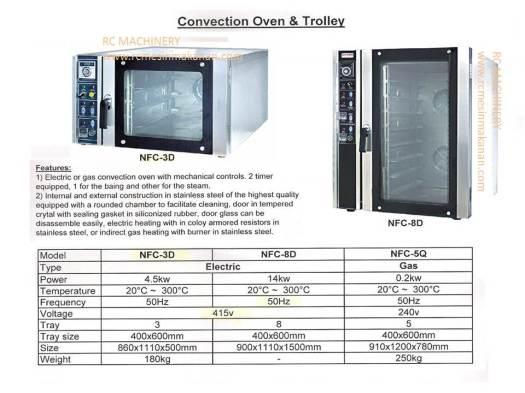 convection oven, mesin membuat kuih dan kek, ketuhar convection
