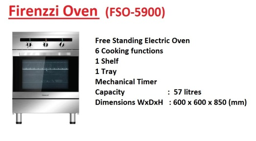 Cooking Good with Firenzzi Electric Oven - Video (English Version) - YouTube