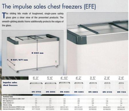 Chest Freezer ( peti beku ) - EFE Model