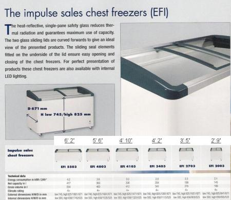 Chest Freezer ( peti beku ) - Model EFI