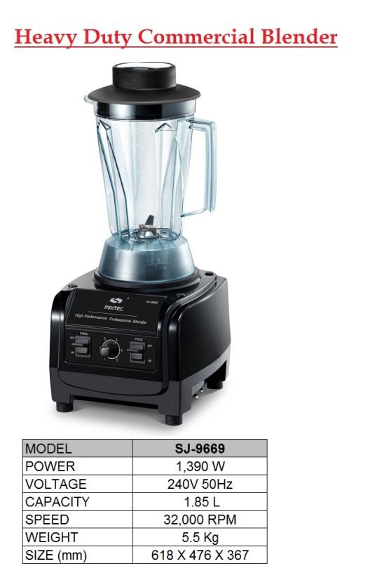 D3 Blender SJ-9669