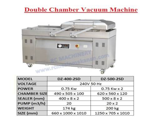 double chamber vacuum machine, vacuum sealer, sealer machine