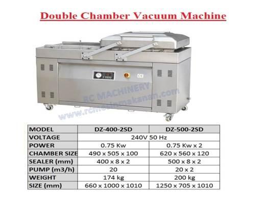 double chamber vacuum machine, vacuum sealer, sealer machine